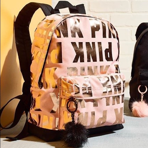 PINK Victoria s Secret Bags   Vs Pink Mini Backpack Tote Bag Pink ... c4555d705b